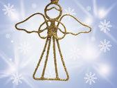 Christmas ornament isolerade — Stockfoto