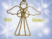 Adornos navideños aislados — Foto de Stock