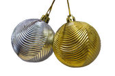 Christbaumschmuck, isoliert — Stockfoto