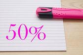 Penna skriva — Stockfoto