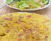 Spanish omelette — Stock Photo