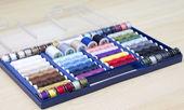 Cucirini colorati — Foto Stock