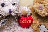 Valentine's card — Stok fotoğraf