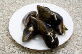 Tasty mussels — Stock fotografie