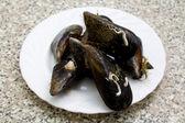 Tasty mussels — 图库照片