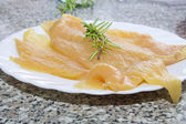 Fillets of fresh chicken breast — Stock Photo