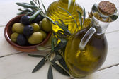 Olives with background — Stock Photo
