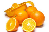 Oranges isolated — Foto Stock