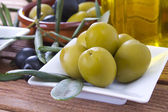 Olives with background — Stok fotoğraf