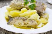 新鲜鳕鱼 — 图库照片