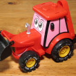 Stock Photo: Toy Earthmover