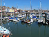 Harbour Area Arbroath Scotland — Stock Photo