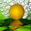 3d ball — Stock Photo