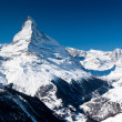 Matterhorn peak. Zermatt, Switzerland — Stock Photo #23078202