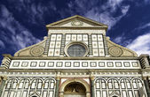 Facade of Santa Maria Novella — Stock Photo