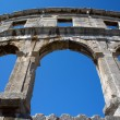 Romamphitheater in Pula — Stock Photo #23168544