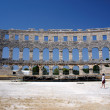 Roman amphitheater in Pula — ストック写真