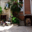 Small square in Rovinj — ストック写真