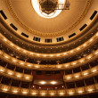 The interior of Opera in Vienna — Stock Photo