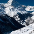 Matterhorn peak. Zermatt, Switzerland — Stock Photo #23169162