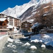 River in Zermatt, Switserland — Stock Photo #23169168