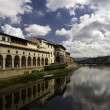 Royalty-Free Stock Photo: Gallery Ufizzi shooted from Ponte Vecchio