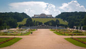 Gloriette arch in Schonbrunn park, Vienna, Austria — Stock Photo