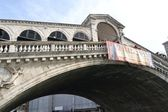 Rialto Bridge in Venice. — Stock Photo