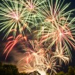 Stockfoto: Beautiful fireworks.