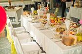 Slavnostní stůl. — Stock fotografie