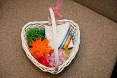 Wattled basket. — Stock Photo