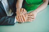 Hands in hands 6. — Stock Photo