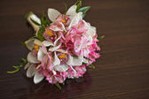 Bouquet on a table. — Stock Photo