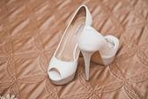 Schoenen van de bruid. — Stockfoto