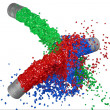 RGB paint splash — Stock Photo #23183152