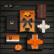 Royalty-Free Stock Vector Image: Halloween gifts