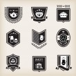 Kitchen badges — Stock Vector