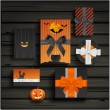 Halloween gifts — Stock Vector