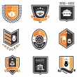 Stock Vector: Kitchen badges