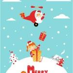 Chrismas card — Stock Vector #23543303