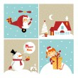 Chrismas card — Stock Vector #23542823