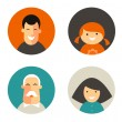 Stock Vector: Family icons