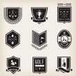 Stock Vector: Golf Emblems
