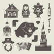 Russian icons — Stock Vector #23719311
