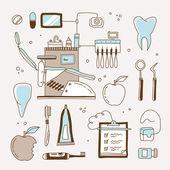 Dentist icon — Stock Vector