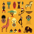 Stock Vector: Africicons