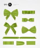 Vector bow collection — Stock Vector