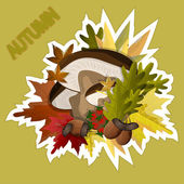 Autumn. — Vector de stock