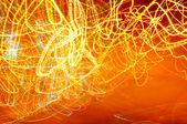 Abstracte straatverlichting — Stockfoto