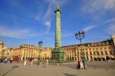 Place Vendome in Paris — Stock Photo